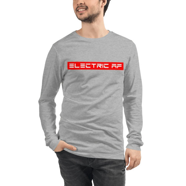 Electric AF Long Sleeve Tee - EV Origins