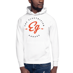 The Electrified Garage Unisex Hoodie - EV Origins