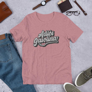 Adios Gasolina! Short-Sleeve Unisex T-Shirt - EV Origins
