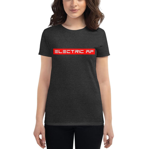 Electric AF Women's short sleeve t-shirt - EV Origins