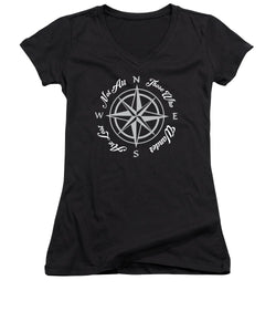 Not All Who Wander - Women's V-Neck (Athletic Fit)