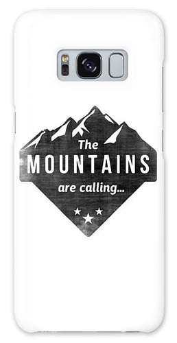 The Mts Are Calling - Phone Case
