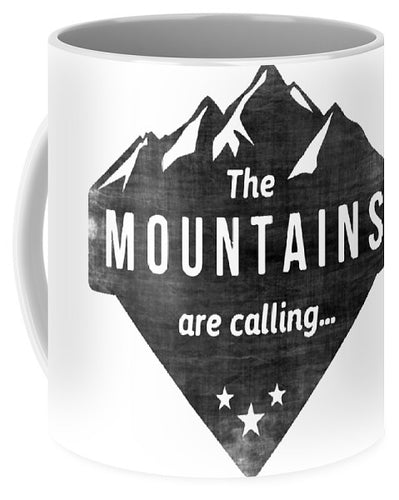 The Mts Are Calling - Mug