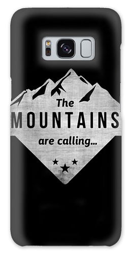 The Mts Are Calling White - Phone Case