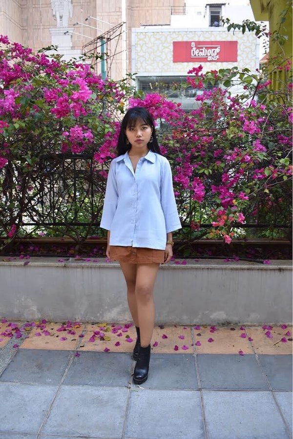 Shirt, Top - Basic Blue Shirt