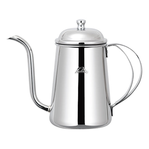 Fine mouth stainless steel coffee pot 1L - al-qahwa