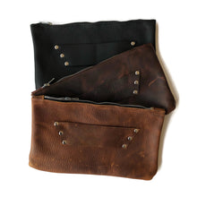 The Raleigh Leather Clutch