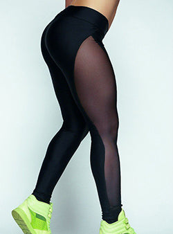Mesh Run Leggings