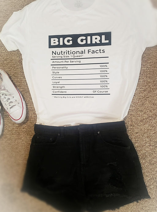 Big Girl Nutritional Facts