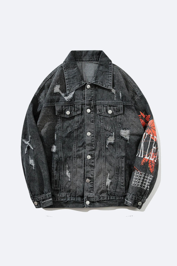 AUTUMN DENIM JACKET