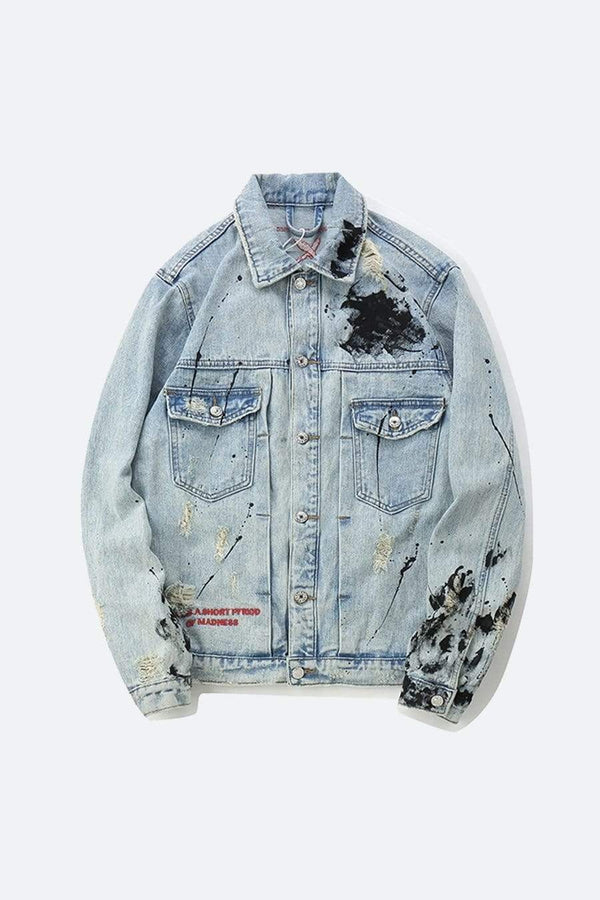 PAINTED EYE DENIM JACKET