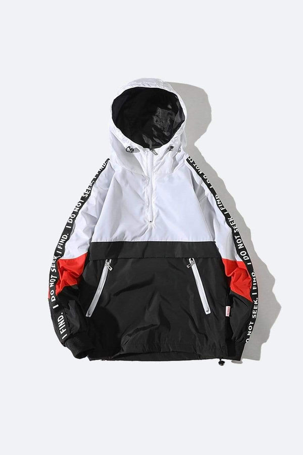 PATCHWORK WINDBREAKER