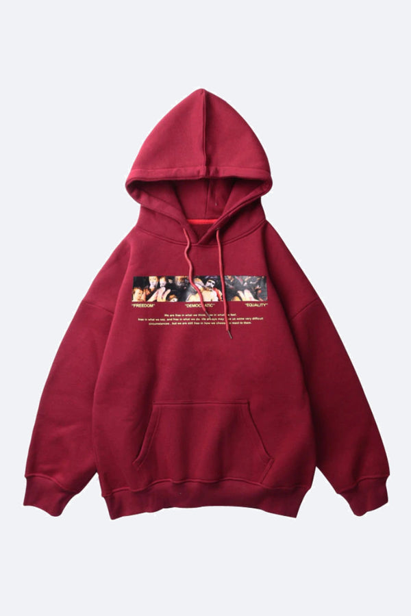EQUALITY PAINTING HOODIE