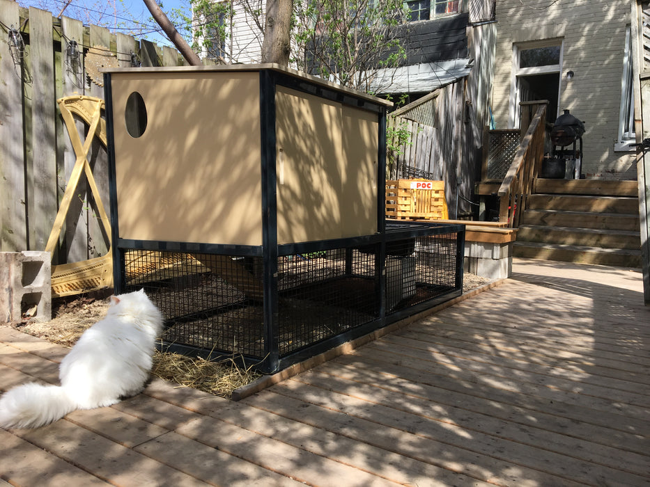 chicken coop - plan - urban - chickens - hens