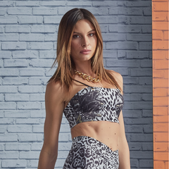 LabellaMafia Top El Darado Animal Print