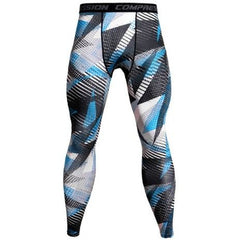 Camouflage Mens Compression Sky Blue