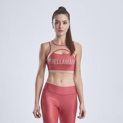 LabellaMafia Sports Bra Glossy Red