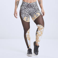 LabellaMafia El Dorado Leggings Animal Print
