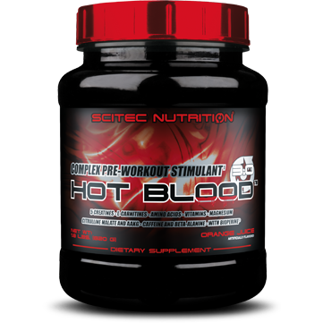 Scitec Nutrition - HOT BLOOD PRE WORKOUT