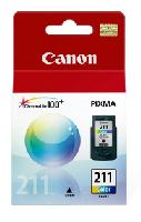 CARTUCHO CANON CL 211 COLOR P/IP2700 MP250 490 MX340