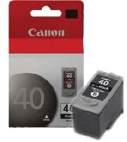 CARTUCHO CANON PG-40 NEGRO P/IP1300,1800,1900, MP-140,190