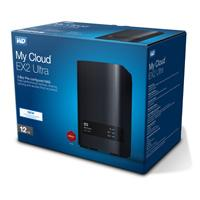 NAS WD MY CLOUD EX2 ULTRA 12TB/CON 2 DISCOS DE 6TB/2BAHIAS/1.3GHZ/1GB/1ETHERNET/2USB3.0/RAID 0-1
