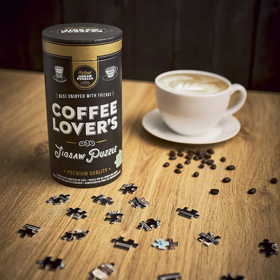 Ridley's Games Coffee Lovers Jigsaw Puzzle 500PCS - mzube Toys & Games