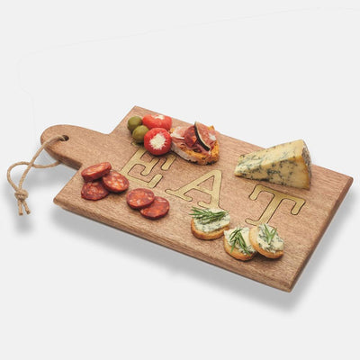 Kitchencraft - Artesà Mango Wood Paddle Serving Board - Serveware - mzube - ARTSERVBRDEAT