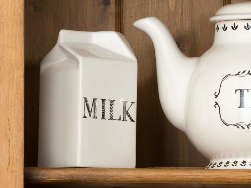 Creative Tops - Creative Tops Stir It Up Mini Milk Carton White - Large - Serveware - mzube - 5174527