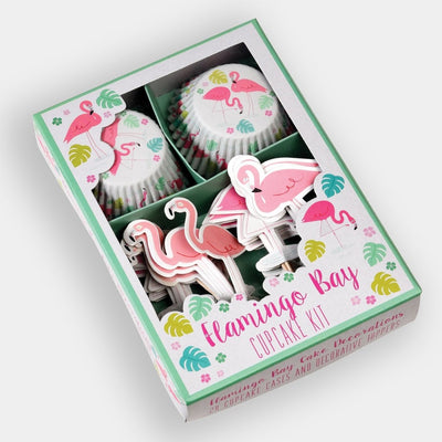 Rex - Flamingo Bay Cupcake Kit - Cookware - mzube - 27684