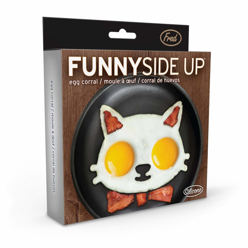 Fred - Fred Funny Side Up Cat Shaped Egg Mould - Kitchen Utensils - mzube - FRED-FUN-CAT