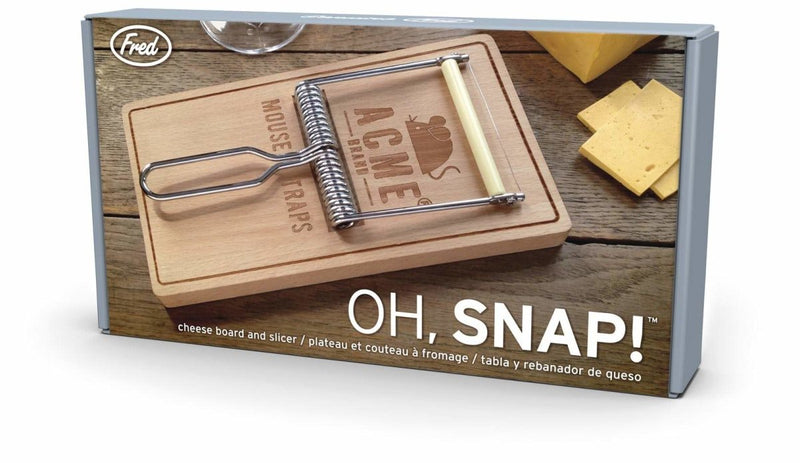 Fred - Fred Oh, Snap! Cheese Board & Slicer - Serveware - mzube - FRED-OSNAP