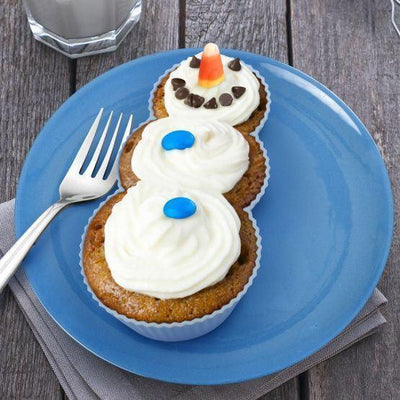 Fred - Frosted Snowman Cupcake Mould X 4 - Cookware - mzube - FFFRSTD