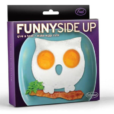 Fred - Funny Side Up Owl Egg Mould - Fred - Kitchen Utensils - mzube - FFUNOWL