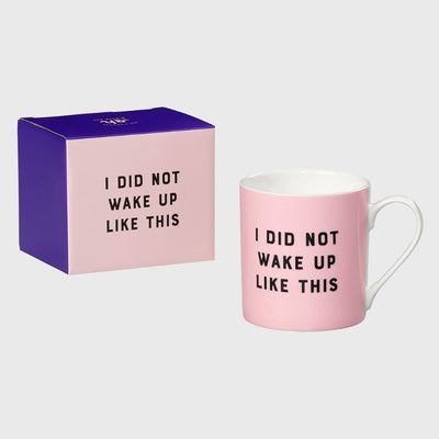 Yes Studio - I Did Not Ceramic Mug Yes Studio - Mugs - mzube - YST056