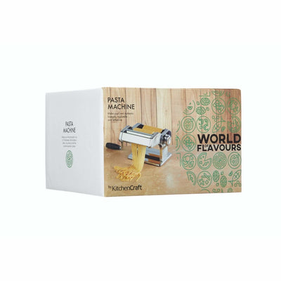 Kitchencraft - KitchenCraft World of Flavours Italian Deluxe Double Cutter Pasta Machine - Cookware - mzube - KCMACH2