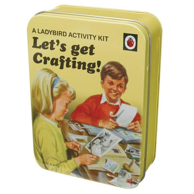Wild & Wolf - Ladybird Lets Get Crafting Activity Kit - Wild & Wolf - Toys & Games - mzube - LAD029