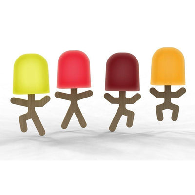 Mustard - Lollypop Men Ice Lolly Moulds - Kitchen & Dining - mzube -