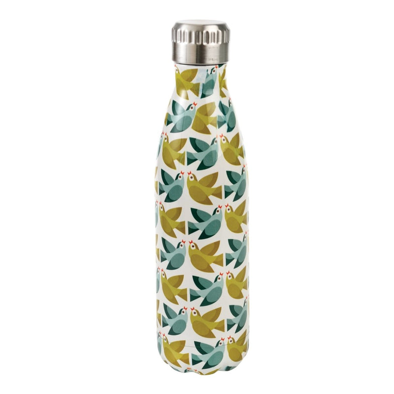 Rex - Love Birds Stainless Steel Bottle - Travel Mug - mzube - 28683