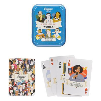 Ridleys Inspirational Woman Play Cards - mzube Toys & Games