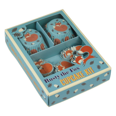 Rusty The Fox Cupcake Kit - mzube Cookware