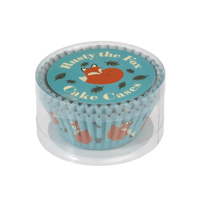 Set 50 Cupcake Cases Rusty The Fox - mzube Cookware