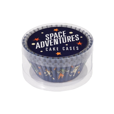 Set 50 Cupcake Cases Space Adventure - mzube Cookware