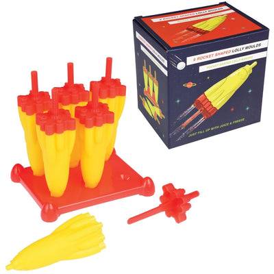 Space Age Rocket Ice Lolly Moulds - mzube Cookware