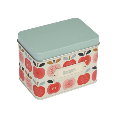 Vintage Apple Recipe Tin - mzube Cookware