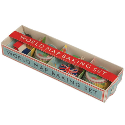 World Map Baking Set - mzube Cookware