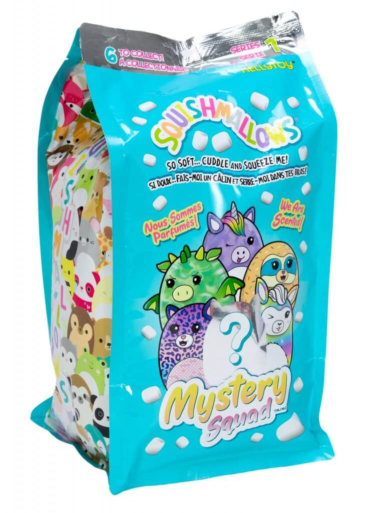 "Kellytoy 5"" Scented Squishmallow Mystery Squad Series 1"