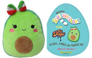 "Squishmallow 7"" Mireya the Avocado Girl with Bow - Super Soft Mochi Squishy Plush Toy - TOYDROPS Mexico Exclusive"