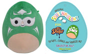 "Squishmallow 7"" Roberto the Green Masked Luchador ""Lucha Libre"" - Super Soft Mochi Squishy Plush Toy - TOYDROPS Mexico Exclusive"