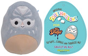 "Squishmallow 7""Anthony the Grey Masked Luchador ""Lucha Libre"" - Super Soft Mochi Squishy Plush Toy - TOYDROPS Mexico Exclusive"